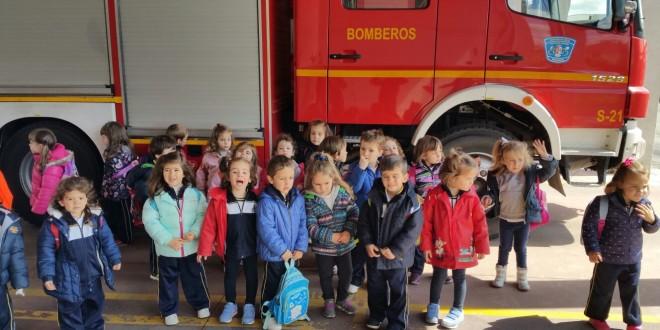 Visita a los bomberos